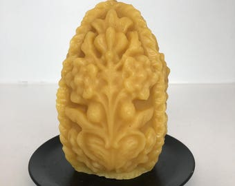 Beeswax  Ornamental Egg 100% pure beeswax