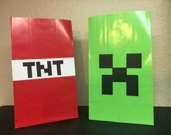 Minrcraft Goody Bags-set of 12