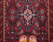Vintage Persian Carpet Rug FREE SHIPPING
