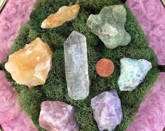 Rainbow Light Chakra Crystal Set (7)