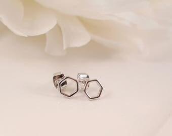 The Samira Earrings - Shiny Silver