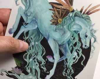 Art ala carte etsy print 85x55 inch water fairyhorse ccuart Choice Image
