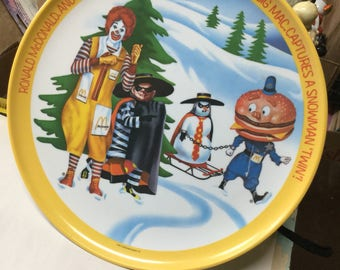 Ronald McDonald Collectible Plate