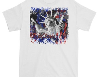 statue of liberty T shirt