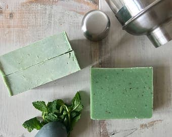 Mint Julep- Natural Gourmet Soap