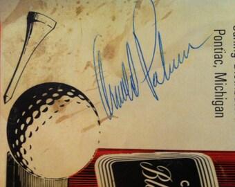 Arnold Palmer Autograph Tournament Program 1964 Carlings Black Label