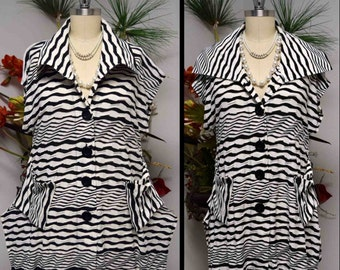 New Designer High fashion Tunic, Plus size Tunic, Blouse, Lagenlook Top with  Front two Pockets M to 3XL