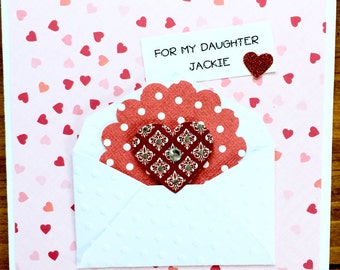 Baseball valentine card for valentine card for daughter daughter in law granddaughter niece sister friend m4hsunfo