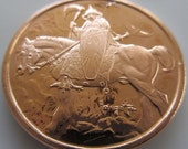 Death Dealer 1 oz .999 Pure Copper Challenge Coin