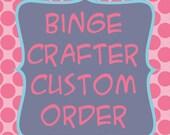 Custom Appliques for Monica