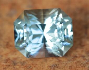 1.68 Carat Nigerian Aquamarine Gemstone Precision Cut Gem