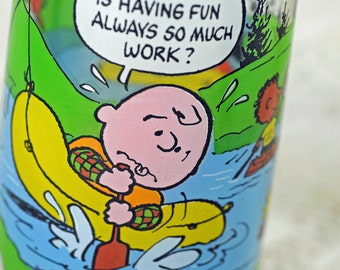 Charlie Brown McDonald's Glass 1968