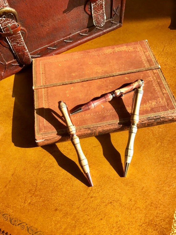 5 Custom Wooden Pens