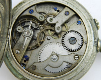 Swiss Watch Mechanism Movement for parts repair not work #807S