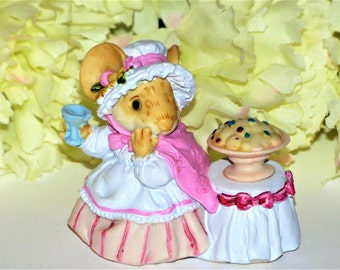 1991 Ganz Little Cheesers Female Mouse Figurine