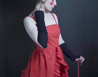 Kawai red dress