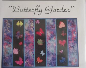 Butterfly Garden Wall Quilt Pattern