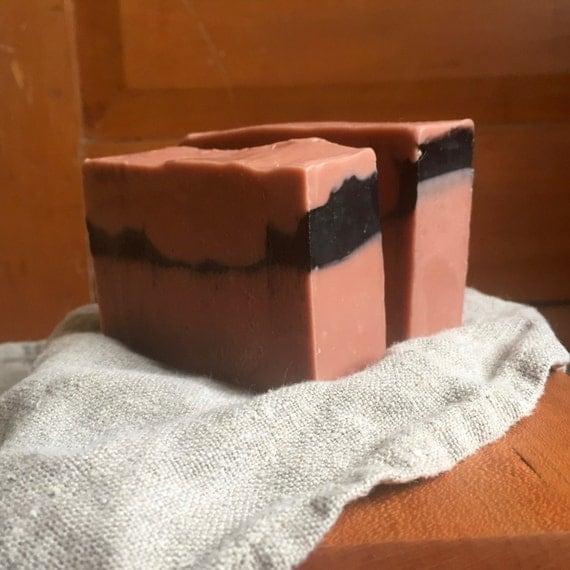 Patchouli, orange, geranium goat milk soap