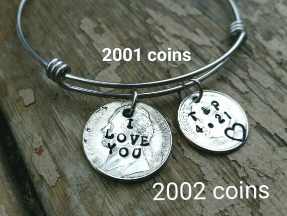 15 Year Wedding Anniversary Gifts For Wife : 15 year anniversary gift handstamped bracelet 15th anniversary jewelry ...