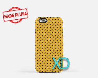 Black Dot Phone Case, Black Dot iPhone Case, Bumblebee iPhone 7 Case, Yellow, Bumblebee iPhone 8 Case, Black Dot Tough Case, Clear Case