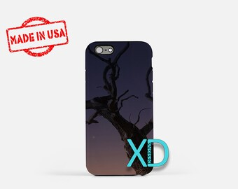 Dusk iPhone Case, Tree iPhone Case,  Sunset iPhone 8 Case, Tree at Dusk, iPhone 6s Case, iPhone 7 Case, Phone Case, iPhone X Case, SE Case