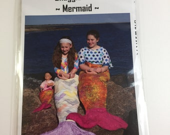 Snuggle Tails Mermaid Pattern - Wendt Quilting - Mermaid Tail Blanket - Sewing Project - Mermaid Quilt Pattern - DIY Mermaid