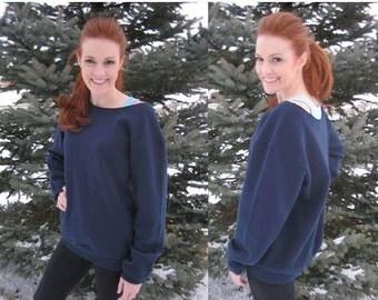 SALE - Off-the-Shoulder Super Comfy Tall Sweatshirt