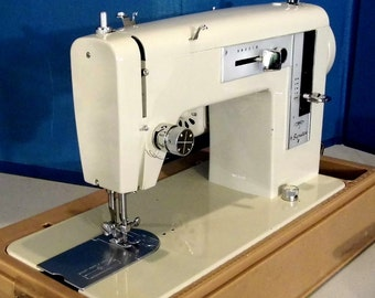 Montgomery Wards Signature 1.3 Amp Vintage Japanese Sewing Machine, with Free Shipping