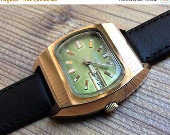 "Soviet watch ""Raketa"", Russian watch, Vintage Watch ,Mens watch, classic watch, Watch Men, boyfriends watch ,Gold Watch"