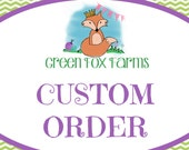 Reserved Custom Dinosaur Blanket Lovey