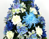 Beautiful Spring Cemetery Flowers for a 3 Inch Vase