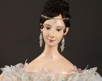 Art doll Natalia Goncharova-Pushkina