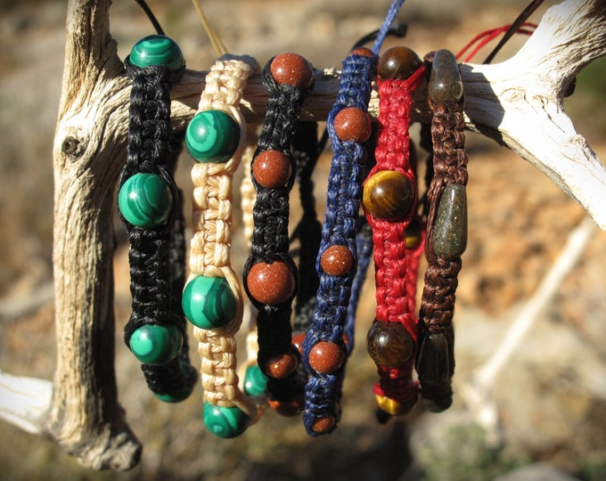 Healing stone bracelet simple different colors