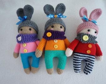 Cute doll crochet pattern