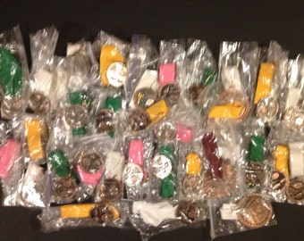 Huge lot of 33 unused solid metal swimming medals ready to be ingraved and givin out - lot 1