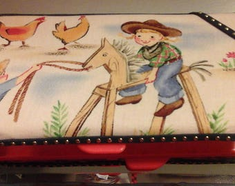 Wipe case cowboy cowgirl wipe case western themed cute add for a baby shower gift