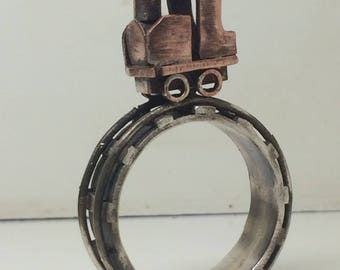 Steamtrain rings