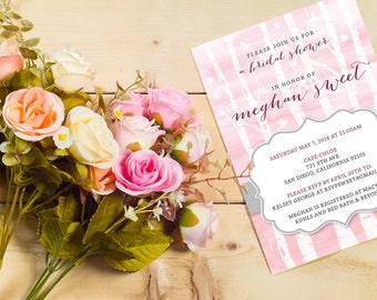 DIY Digital Printable Bridal Shower Invitation