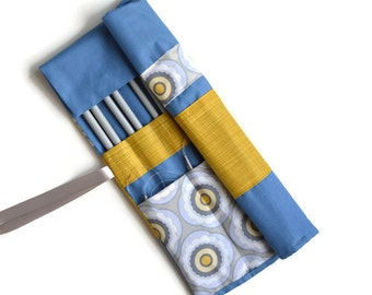 Knitting Needle Case, Knitting Needle & Crochet Hook Roll