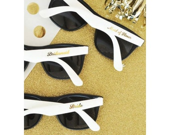 Bridal Party Sunglasses Set of 6 Bridesmaid Gifts Wedding Party Gifts