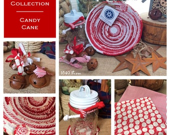 Candy Cane Collection - Made to Order Basket