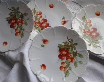 Cherry Plates Vintage China