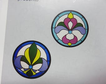 Pattern - Stained Glass Pattern- Mini Victorians Stained Glass Patterns