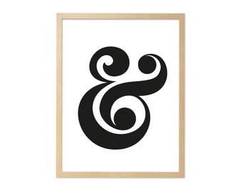 Fine art print · Ampersand · DIN A4