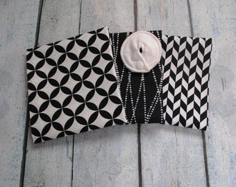 Black and White G-Tube Pads  -- Set of 6