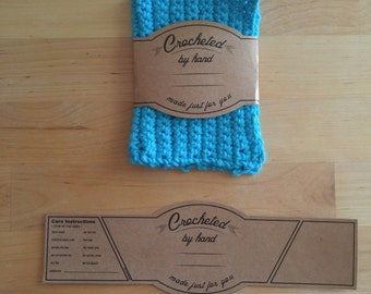 Crochet Labels - PRINT YOUR OWN
