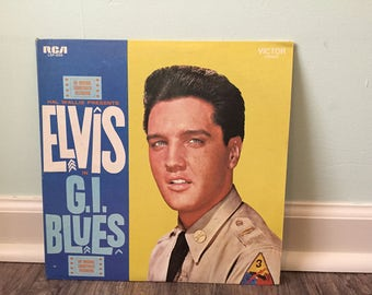 "Elvis ""G.I. Blues"" vinyl record"