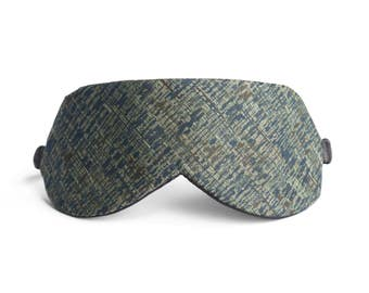 Japanese Sleep Mask in VÍK Green