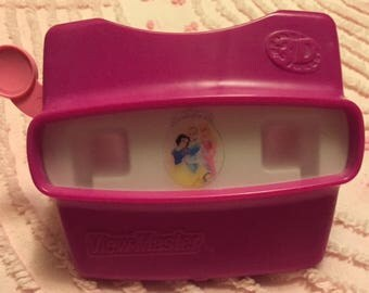 Fisher Price View Master - magenta with Princesses - 1998