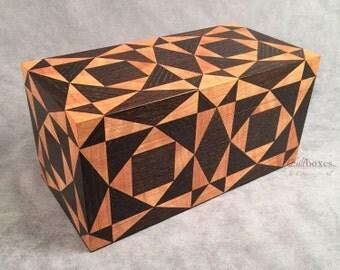 Storm at Sea Wooden Keepsake Box - 5x10